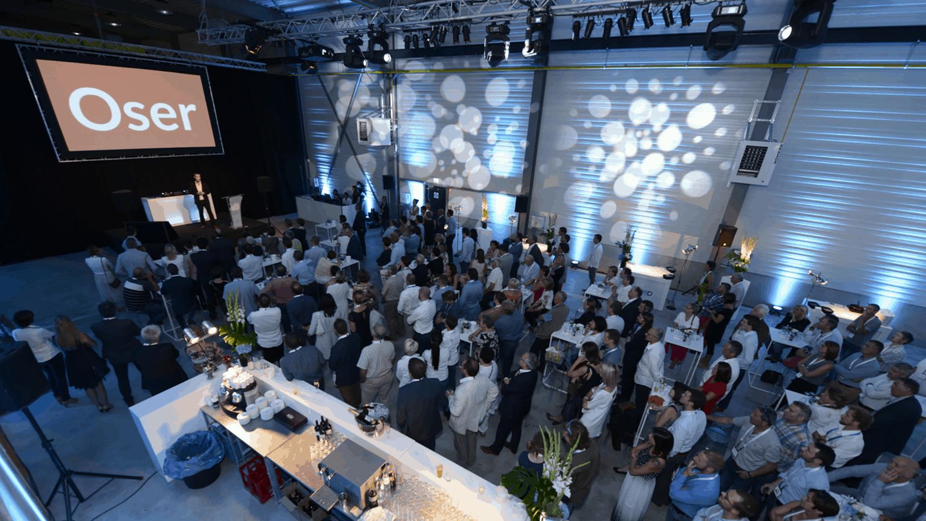 Anniversaire d'entreprise pour exelio organisé par So Event