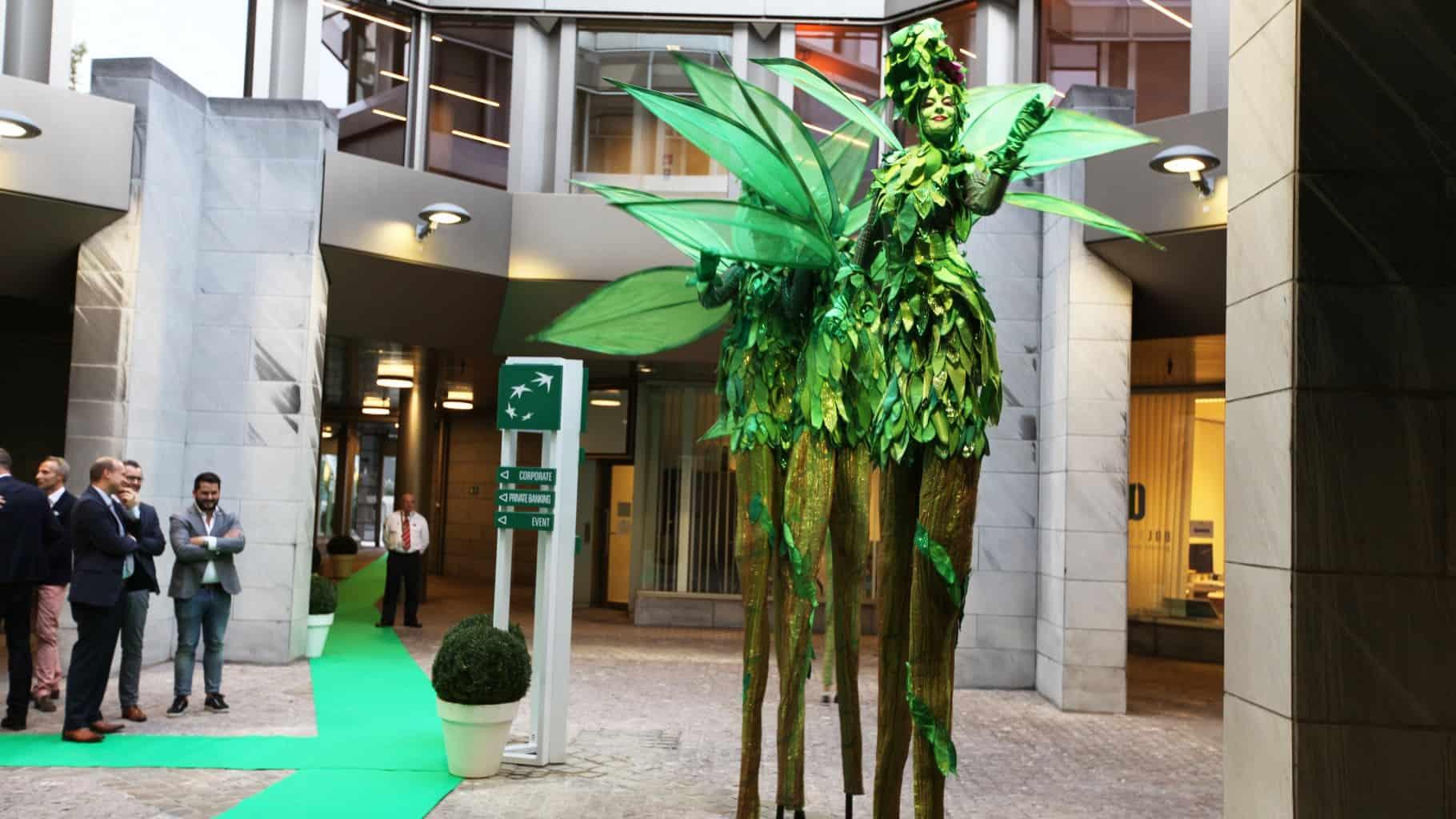 Inauguration de l'agence flagship de BNP à Liège par So Event