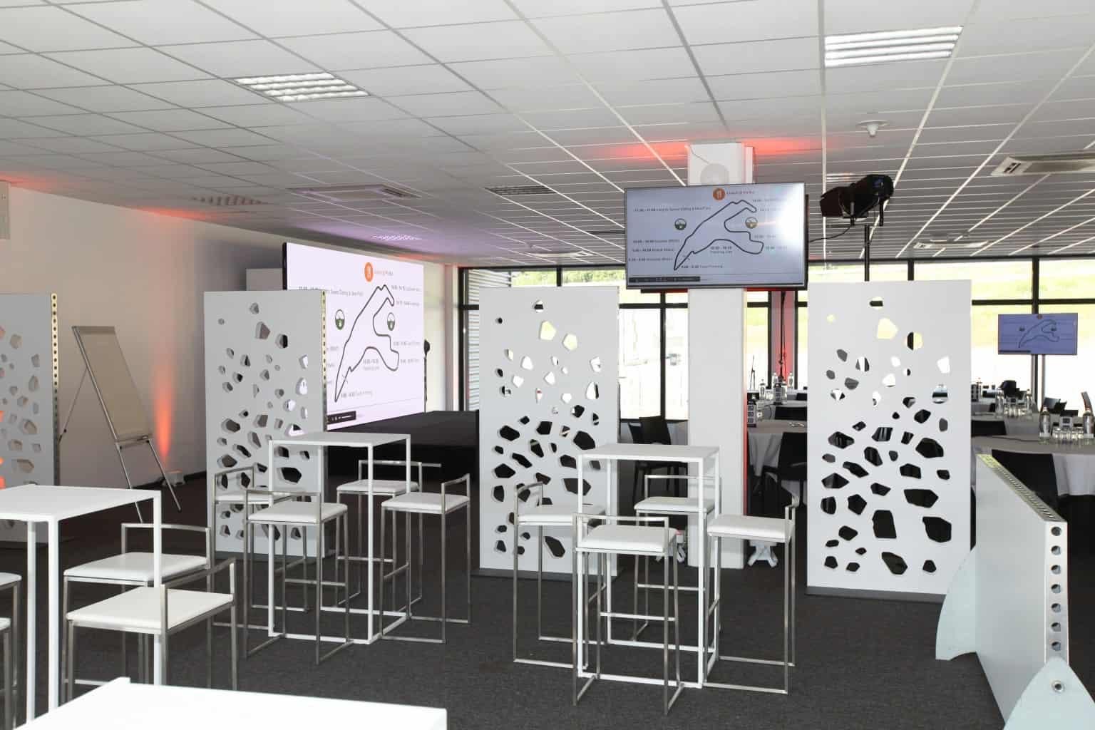Aménagement réalisé par So Event pour le séminaire Product & Technology d'eBay