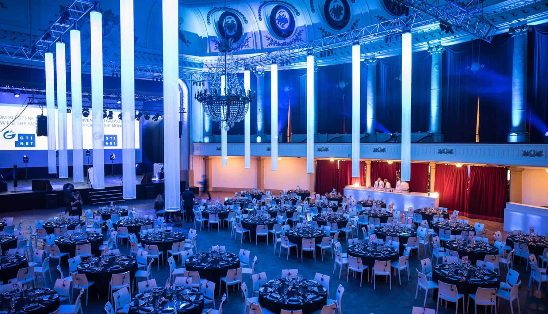 Soirée de Gala corporate organisé par So Event au casino de Spa