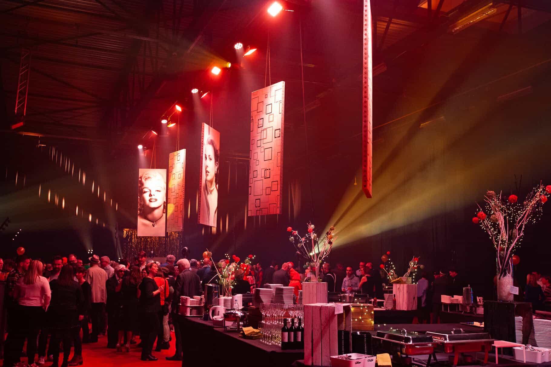 Organisation de la fête du personnel de BNP Paribas Fortis par So Event sous une thématique Hollywood Party