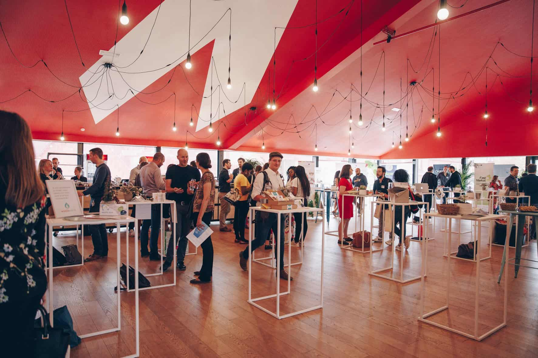 Aménagement et décoration du Mind&Market Charleroi par So Event